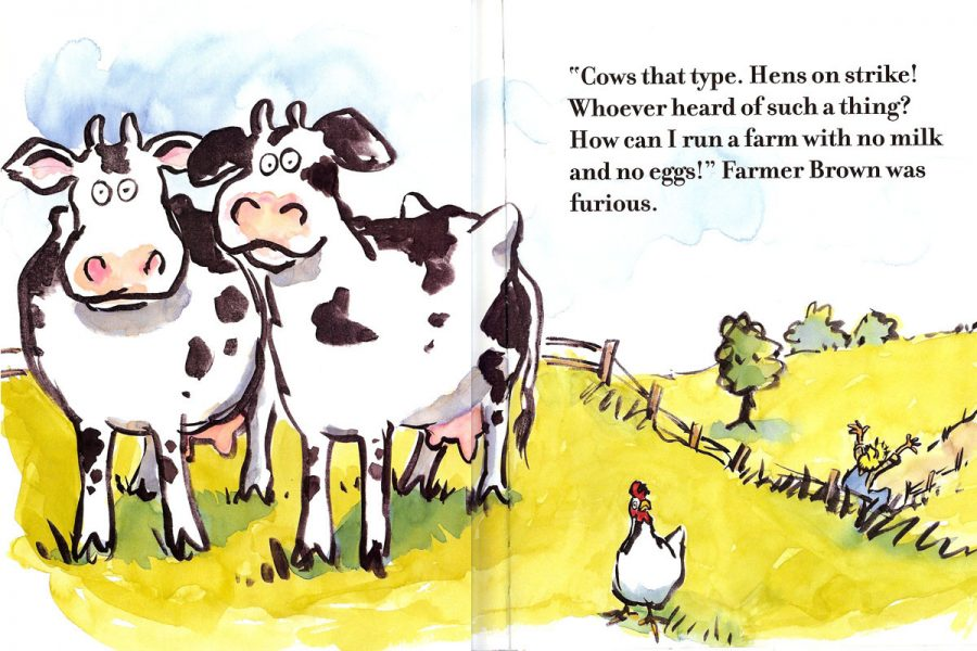 Click, Clack, Moo; Cows That Type