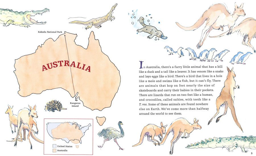 Top to Bottom: Down Under